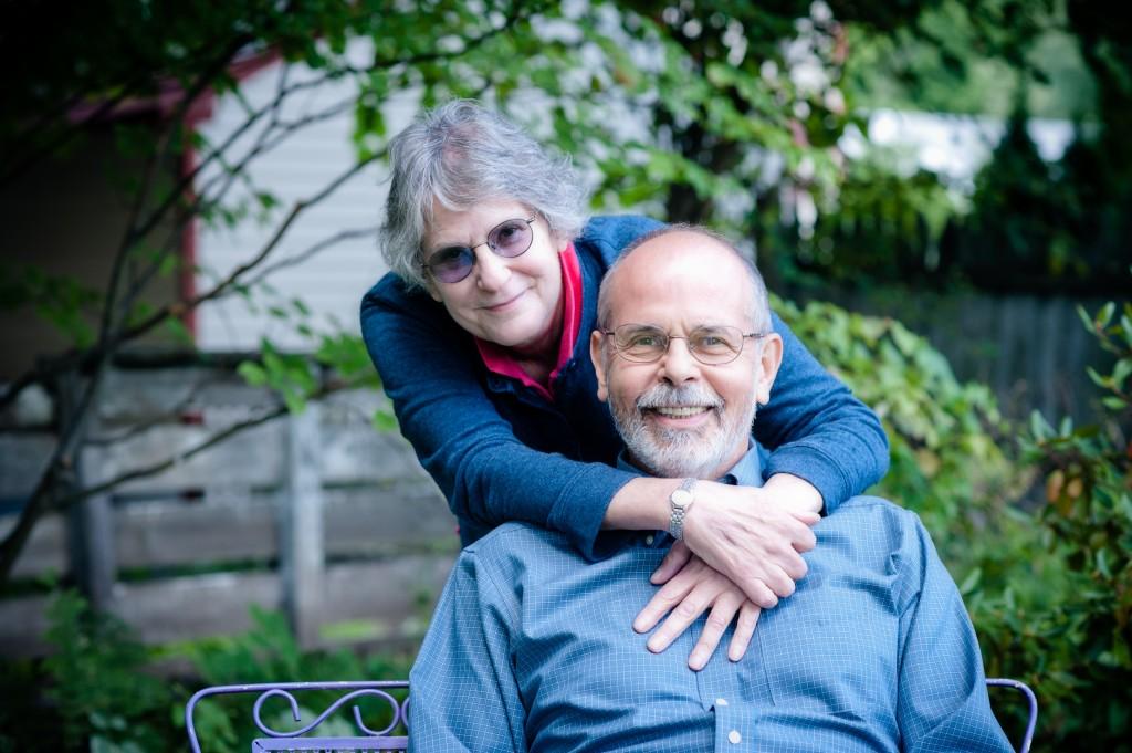 Jane Rosser and Ken Vitale